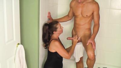 Скрытая камера в мужской бане